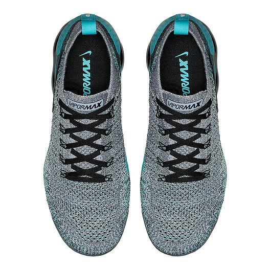 de15e3b29c7 Nike Men s Air VaporMax Flyknit 2 Running Shoes - White Black Jade. (0).  View Description