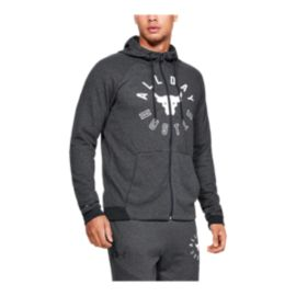 Under Armour Men's Project Rock Double Knit Full Zip Hoodie