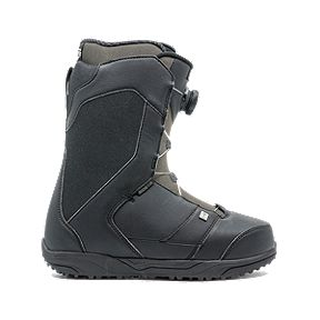 0d351625e11 Ride Riot Boa Men s Snowboarding Boots 2018 19 - Black Grey