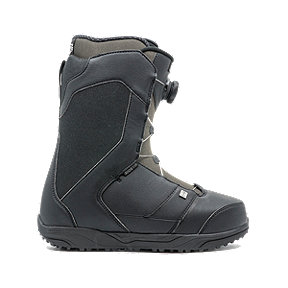 Ride Riot Boa Men's Snowboarding Boots 2018/19 - Black/Grey