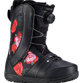 Ride Sage Boa Women's Snowboarding Boots 2018/19 - Black Rose