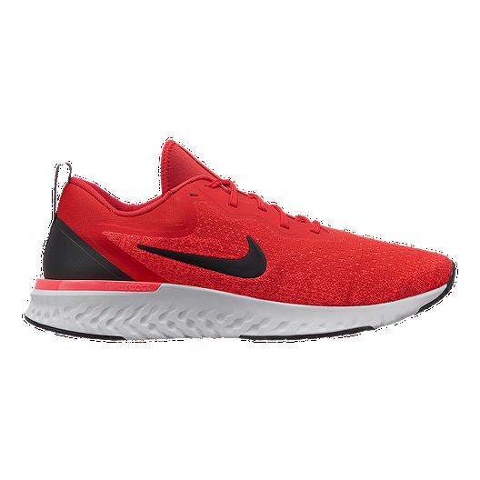 257c5a06db46 Nike Men s Odyssey React Running Shoes - Red Black