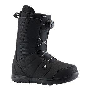 032286e2a1 Burton Moto Boa Men s Snowboard Boots 2018 19 - Black