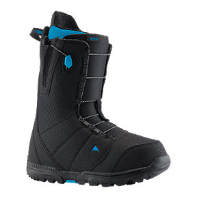 Burton Moto (Speed Zone) Men's Snowboard Boots 2018/19 - Black Blue