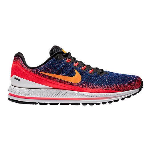 c7e5b68e7427 Nike Men s Air Zoom Vomero 13 Running Shoes - Blue Orange Red ...