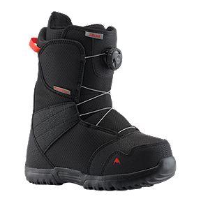 0ecd42781f48 Burton Zipline Boa Junior Snowboard Boots 2018/19 - Black