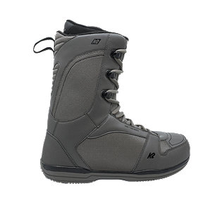 K2 Data Men's Snowboard Boots 2018/19 - Black/ Grey