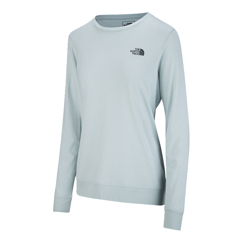 The North Face Women s Twig Town Long Sleeve T Shirt - Blue Haze ... 613fecc62c