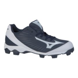 Mizuno Men's 9-Spike Advanced Franchise 9 Low Baseball Cleats - Navy Blue