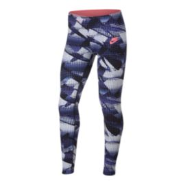 Nike Sportswear Girls' Favourite All Over Print Leggings