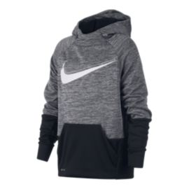Nike Boys' Therma Swoosh GFX Pullover Hoodie