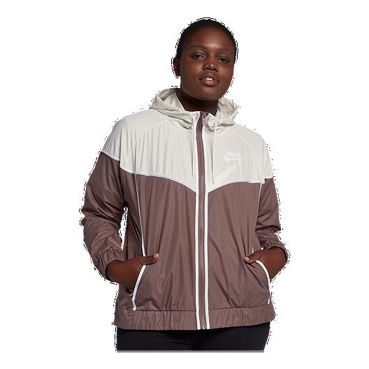 7039840128c Nike Sportswear Women s Windrunner Plus Size Jacket