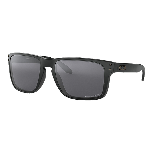d56612d57b80a Oakley Holbrook XL Polarized Sunglasses - Matte Black with Prizm Black  Iridium Lenses