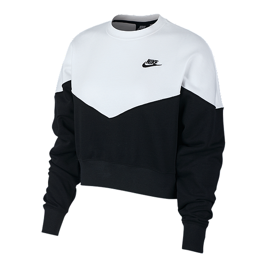 de6cda07 Nike Sportswear Women's Heritage Fleece Sweatshirt | Sport Chek