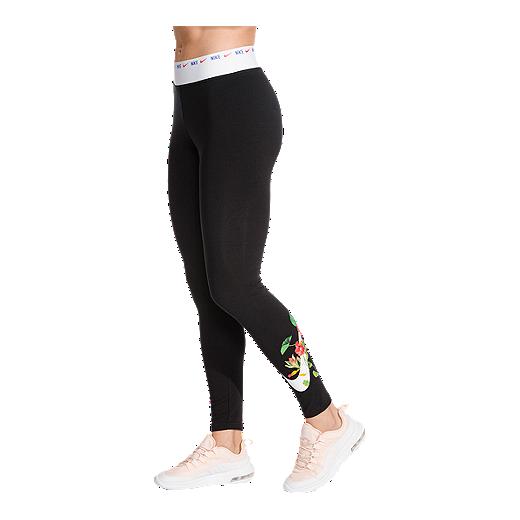 timeless design 04bb0 8de87 Nike Sportswear Women s Hyper Femme Graphic Leggings - BLACK