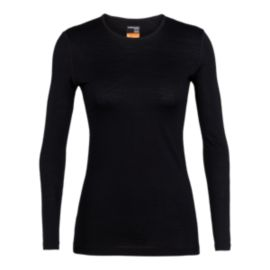 Icebreaker Women's Oasis 200 Long Sleeve Crewe Top