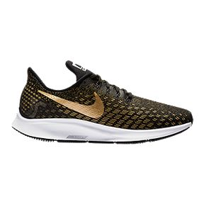 34a71f5c0852f Nike Women s Air Zoom Pegasus 35 Running Shoes - Metallic Clash Black