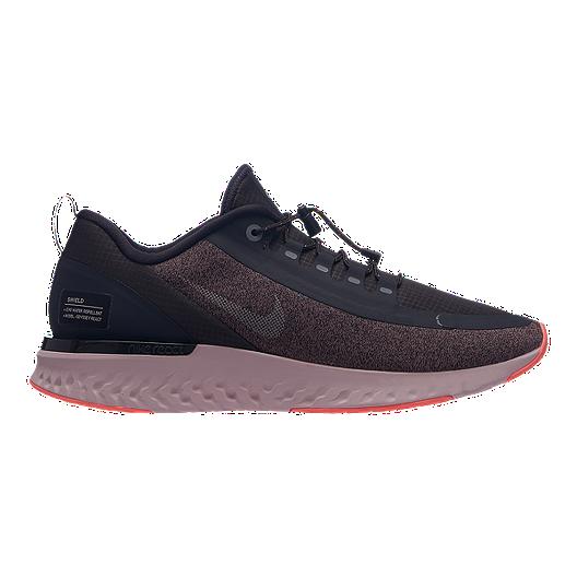 28a6cc36f76b Nike Women s Odyssey React Shield Running Shoes - Grey Silver ...