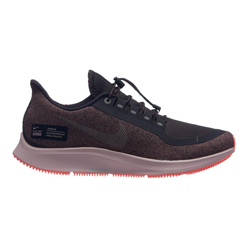 4a4b5ca1d596 Nike Women s Air Zoom Pegasus 35 RN Shield Running Shoes - Grey ...