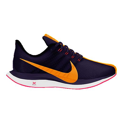 27d0ab04f8412 Nike Women's Zoom Pegasus 35 Turbo Running Shoes - Blackened Blue