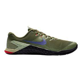 94202af397920 Nike Men s Metcon 4 Training Shoes - Olive Navy Black