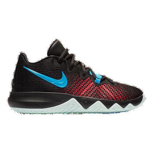 7d9d791be7c9 Nike Boys  Kyrie Flytrap Grade School Shoes - Black Blue University Red