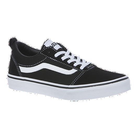 Old Vans Blackwhite Up Lace Skool Boys' Shoes 54qc3RAjLS