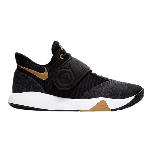 outlet store 2b744 47a6a Nike Men s KD Trey 5 VI Basketball Shoes - Black Gold   Sport Chek
