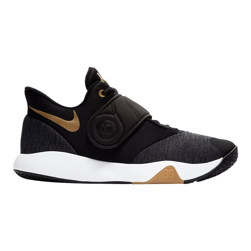 491276e7af17 Nike Men s KD Trey 5 VI Basketball Shoes - Black Gold