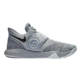 Nike Men s KD Trey 5 VI Basketball Shoes - Grey Black White  e54ddb1b2