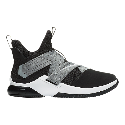 c81e6f1a6e4 Nike Men s LeBron Soldier XII SFG Basketball Shoes - Black White ...