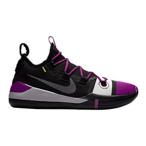 a4a2a197cdc0 Nike Men s Kobe AD Exodus Basketball Shoes - Black Grey Purple