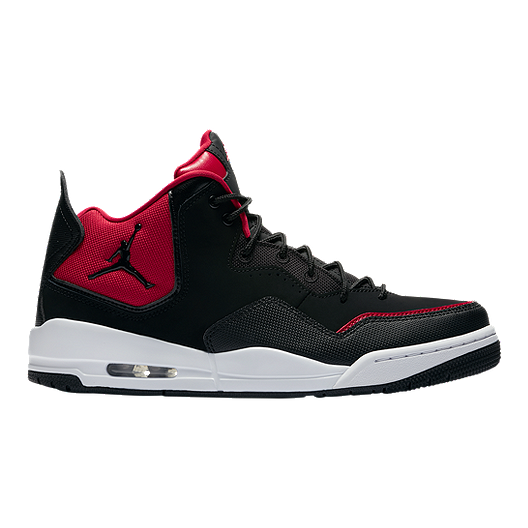 63054f75512 Nike Men's Jordan Courtside 23 Basketball Shoes - Black/Red/White | Sport  Chek