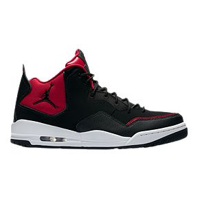 Nike Men s Jordan Courtside 23 Basketball Shoes - Black Red White afd3f8e5d3
