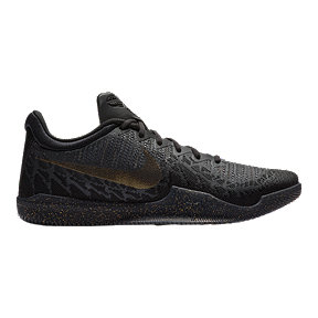 Nike Men's Mamba Rage Basketball Shoes - Black/Gold