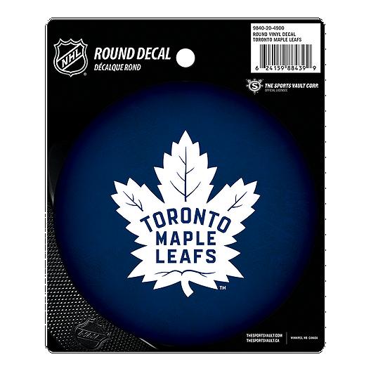 Toronto Maple Leafs Round Vinyl Decal Sport Chek