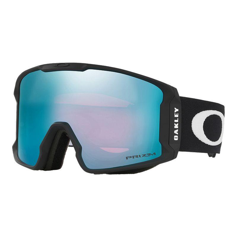eba7abbe6edb Oakley Line Miner Ski   Snowboard Goggles 2018 19 - Matte Black with Prizm  Sapphire