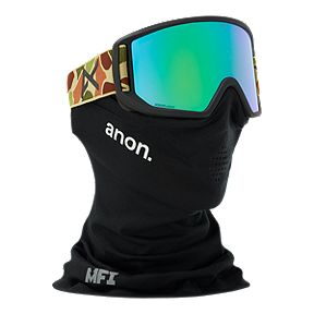 1c41adedbf7 Anon Relapse MFI Ski   Snowboard Goggles with Facemask 2018 19 - Duck Camo