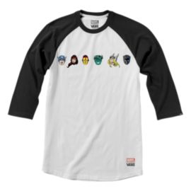 Vans Marvel Men's Character Raglan Shirt