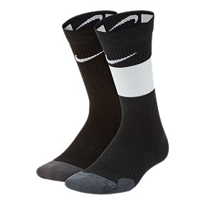 Nike Boys' Elite Crew Sock (2 Pair)