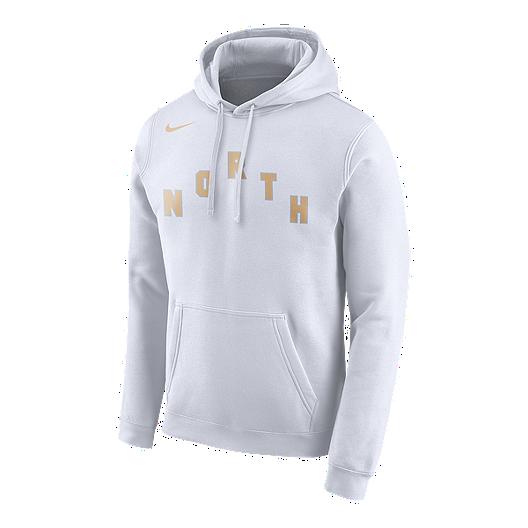 214381196a4d Toronto Raptors Nike Men s City Edition Logo Essential Hoodie ...