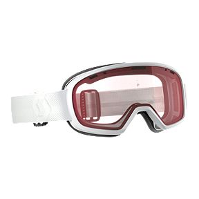 1ea3aaca66f SCOTT Muse Women s Ski   Snowboard Goggles 2018 19 - White with Enhancer  Lens