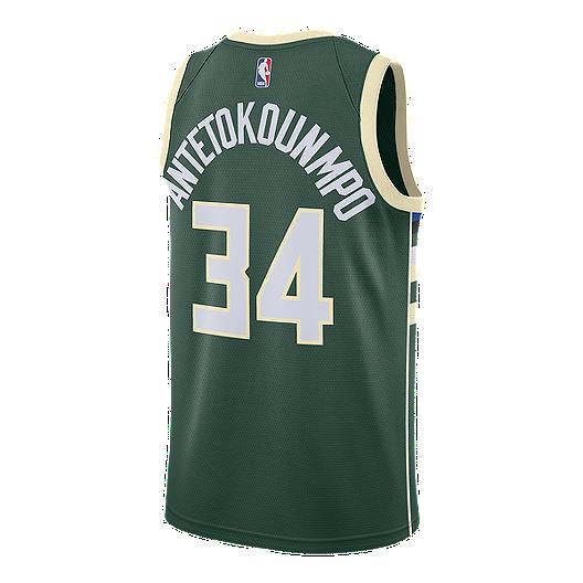 f08cd95b1080bf Milwaukee Bucks Nike Men s Giannis Antetokounmpo Swingman Jersey ...