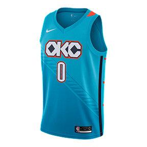 Oklahoma City Thunder Nike Men s Westbrook City Edition Swingman Jersey 8ec56d8ab