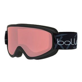 6c5d6abccc7b Bolle Freeze Ski   Snowboard Goggles 2018 19 - Matte Black with Vermillon  Lens