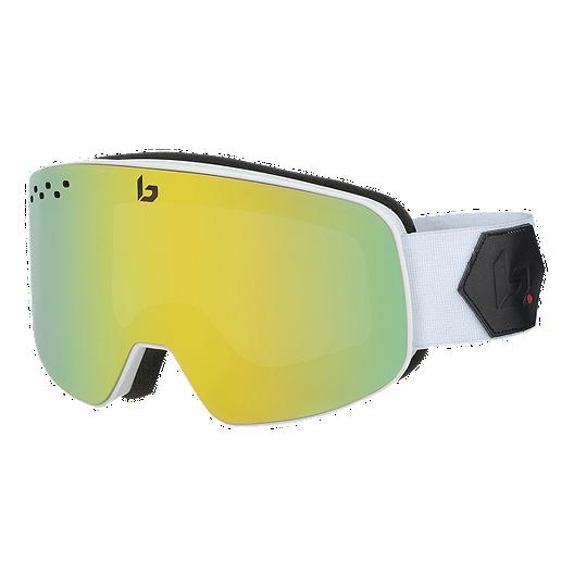 730025108efe Bolle Nevada Ski   Snowboard Goggles 2018 19 - Matte White with Sunshine  Lens