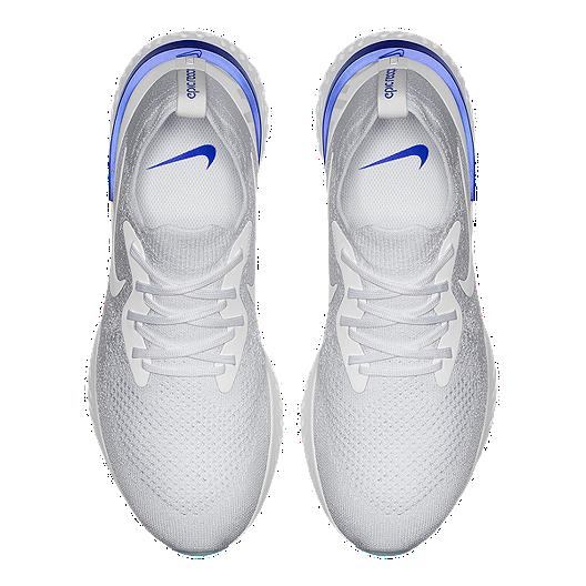 a6234284f8dc8 Nike Men s Epic React Flyknit Running Shoes - White Blue. (1). View  Description