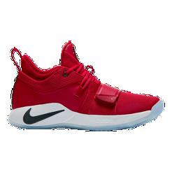 Nike Men s PG2.5 Basketball Shoes - Red White  51b62e499