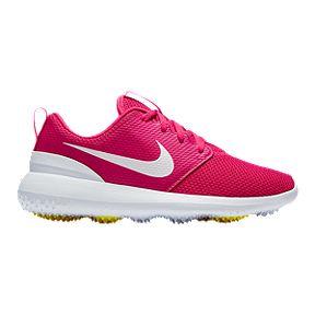 9bbaaf2a7072 Nike Women s Roshe G Golf Shoe - Black White Yellow