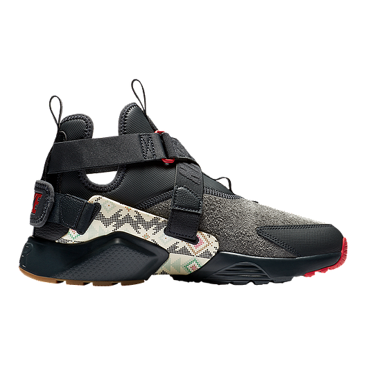 promo code ba082 1bb2b Nike Men s N7 Huarache City Utility Premium Shoes - Anthracite University  Red Gum Light   Sport Chek
